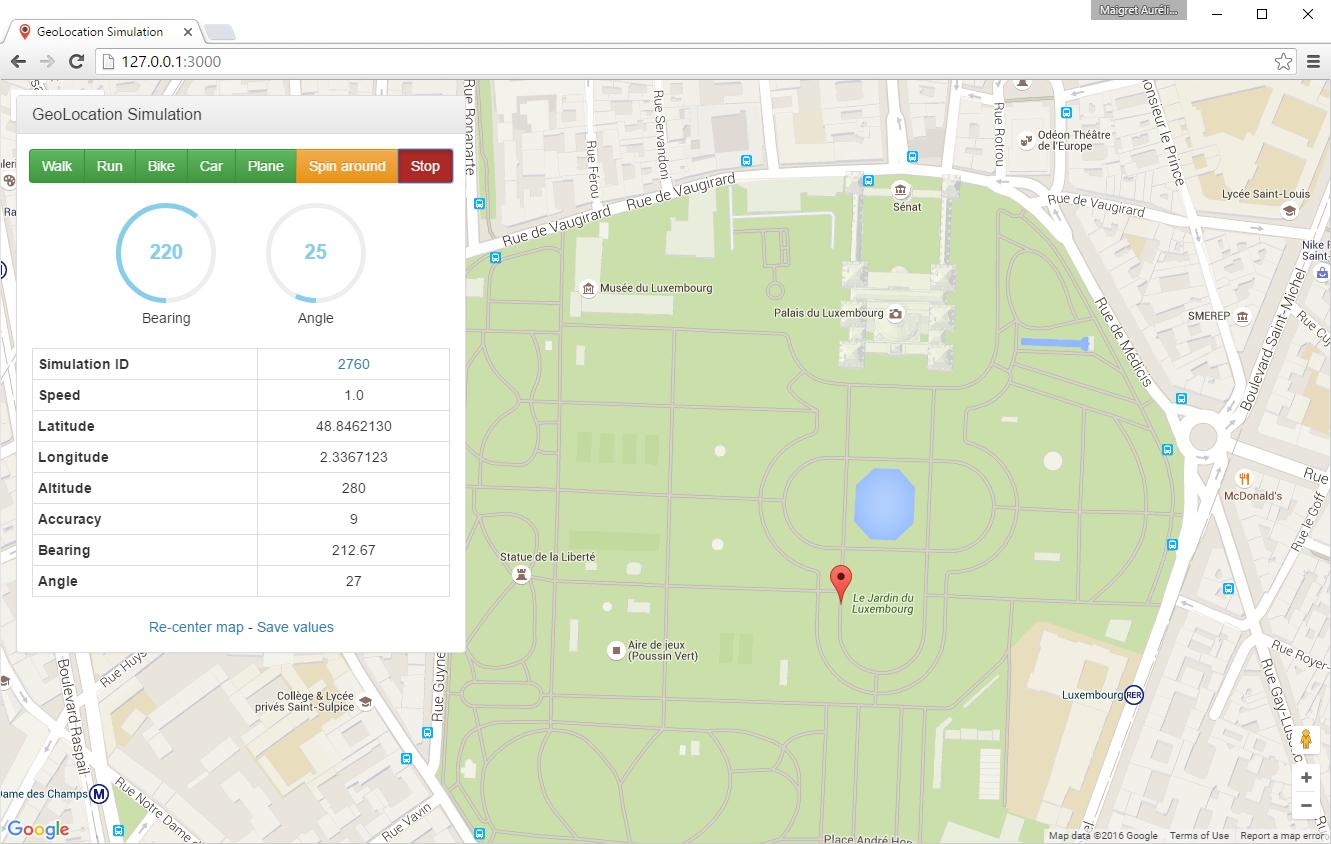 Pokémon GO How I Changed My Location MAIGRET Aurélien - Altitude longitude